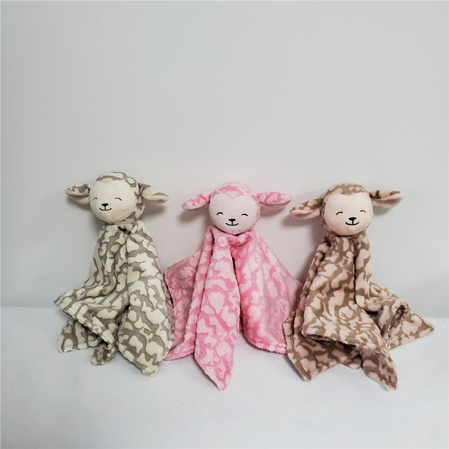 Sheep comforters in three colors